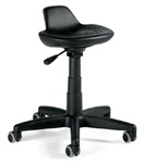 Clean Room Minotaur Work Stool 9611-56 by Global
