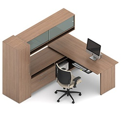 Princeton Office Desk A1J by Global
