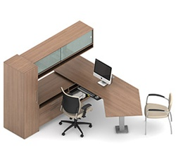 Princeton Executive Desk A1R by Global