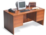 Adaptabilities Double Pedestal Desk by Global