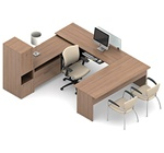 Princeton Executive Office Desk A3L by Global