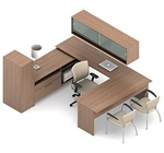 Princeton Desk Configuration A3M by Global