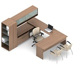 Princeton Executive Desk A3R by Global