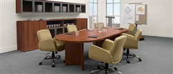10' Racetrack Conference Table A by Global