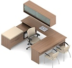 Princeton Modular Executive Desk A4G by Global