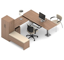 Princeton Office Desk Set A5-3D by Global