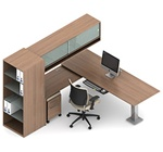 Princeton Desk Configuration A5-3H by Global