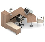 Princeton Desk Set B1-3D by Global