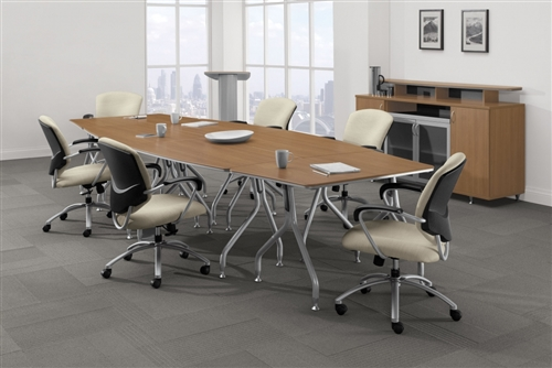 Global Flip Top Bungee Table Set At Office Furniture Deals