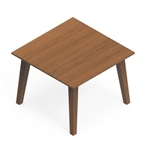 "Global Corby 17""H Wood Veneer Occasional Table CBYCT2424H17"