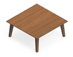 Global Corby Mid Century Veneer Coffee Table CBYCT3030H13