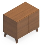 Global Corby Wood Veneer Storage Cabinet CBYP6LB