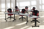 Global ConnecTABLES Modular Training Room Tables Package CNN504