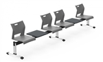 Global Duet Easy To Clean Beam Seating Configuration DUT505