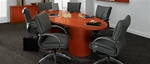 Easton 10' Wood Veneer Conference Table by Global