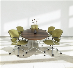 Alba 10' Elliptical Conference Table GEL10WSTM by Global