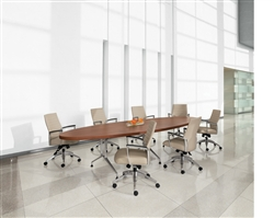 Alba 12' Conference Table GEL12WSTM by Global