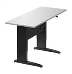Manual Height Adjustable Sit to Stand Table Desk HTM3058 by Global Total Office