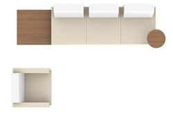 Ballara Lounge Furniture Configuration G by Global