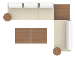Ballara Lounge Furniture Layout I by Global