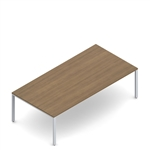 "Global Princeton 96"" x 48"" Rectangular Office Table PN964829"