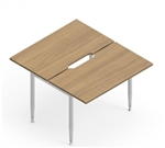 "Global SideBar Collection 42"" x 48"" Open Concept Benching Station S4248CS"