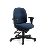Global Granada Low Back Heavy Duty Big And Tall Task Chair - TS3212