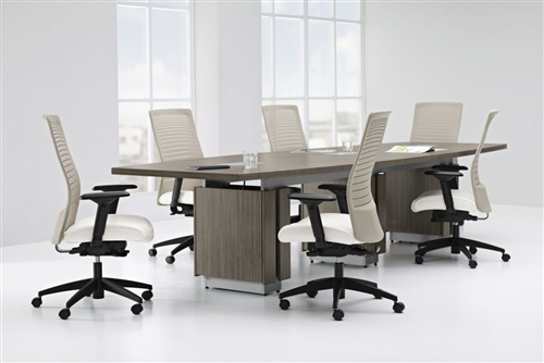 Global Total Office Zira Series Boat Shaped Conference Table - 120 conference table