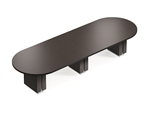 Zira Series 10' Racetrack Boardroom Table Z48120RTE by Global