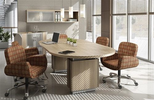 Global Zira Oval Boardroom Table ZRTE Office Furniture Deals - Global conference table
