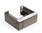 Zira Contemporary U Shaped Reception Desk by Global Total Office
