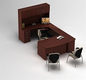 Zira Executive Desk Layout 5 By Global