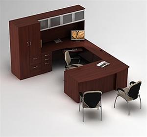 Global Zira Desk Layout 6