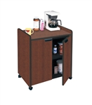 Eastwinds 2110MU Mahogany Storage Cabinet and Printer Stand by Mayline