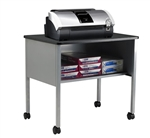 Eastwinds Mobile Storage Cart, Utility Table, and Fax Machine Stand by Mayline