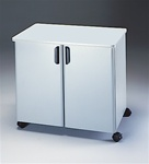 Mobile Utility Storage Cabinet With Steel Exterior by Mayline