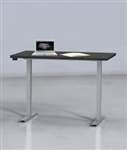 "Mayline ML Series 2 Stage 60"" x 24"" Height Adjustable Table 5222460H"