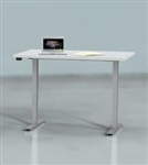 "Mayline ML Series 2 Stage 48"" x 30"" Height Adjustable Table 5223048H"