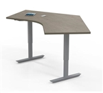 "Mayline ML Series 2 Stage 48"" x 30"" Adjustable Table 5248DLH"