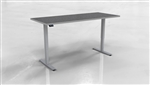 "Mayline ML Series 3 Stage 72"" x 30"" Ergonomic Table 5323072H"