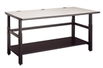 "Mayline 60"" x 36"" Techworks Adjustable Height Table 702"