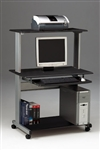 Mayline 8350MR Eastwinds Mobile Metal Frame Computer Desk
