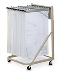Mayline 9329H Vertical Plan File Cart