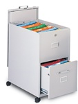 Mobilizer 2 Drawer File Cart 9P620 by Mayline