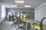 Aberdeen Gray Steel Finished 8' Boat Shaped Conference Table by Mayline