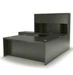 Mayline Aberdeen Gray Steel Finished Office Desk Set AT10LGS