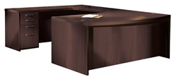 AT3 Aberdeen U Shaped Executive Desk by Mayline