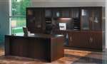 Mocha Aberdeen Executive Desk AT35LDC by Mayline