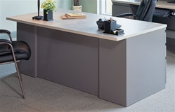 "Mayline C1653 Professional 60"" Executive Desk"