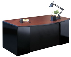 New Metal Executive Desk C1952 by Mayline